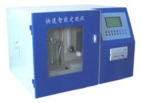 测量焦炭自动定硫仪