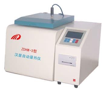测量粉煤灰汉显自动量热仪