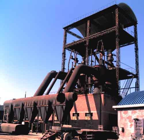 两段式煤气发生炉