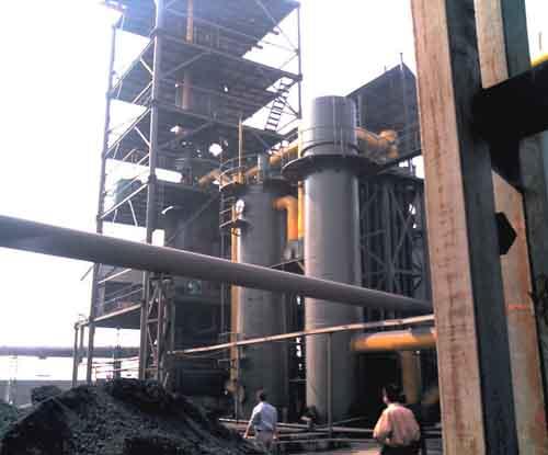两段式冷煤气发生炉