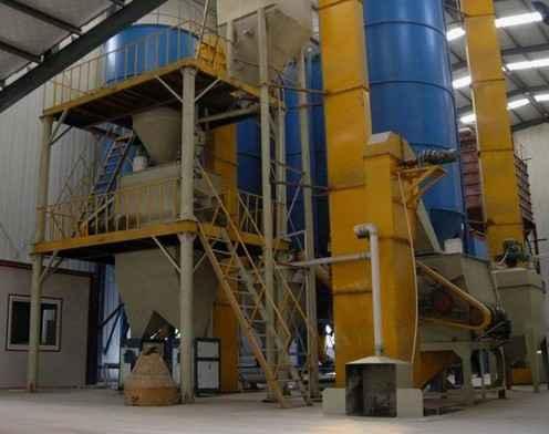 高强耐水粉刷石膏生产线机械设备