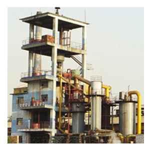 供应两段式煤气发生炉