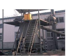 曲柄连杆机构除灰系列单段式煤气炉